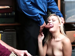 Brief hair blond stunner and mature gloryhole fuck Suspect